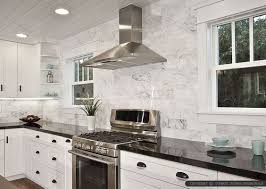 black and white kitchen backsplash best 25 black granite countertops ideas on black