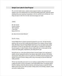 trend cover letter for funding proposal 80 in best cover letter