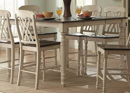 Distressed Pedestal Dining Table Antique White Dining Room Set Distressed Farm Table Antique