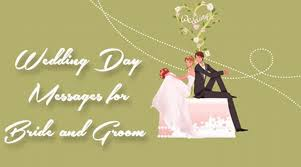 wedding day messages wedding day messages for and groom