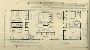 mid century modern homes floor plans