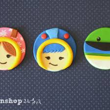 umizoomi cake toppers icecream theme cupcake toppers cake from taleenshop taleenshop
