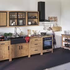 meuble cuisine 110 cm alinea lys meuble de cuisine haut à portes vitrées 110cm meubles