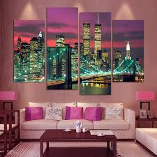 aliexpress com buy high quality 4 panels home decor wall art