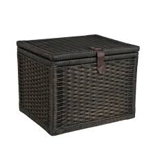 small wicker storage trunk small wicker chest the basket lady