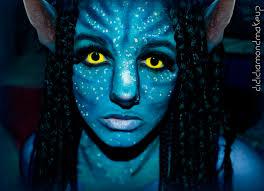 Halloween Avatar Costume Avatar Na U0027vi Neytiri Makeup Halloween Heart