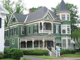 green victorian house color schemes exterior victorian style house