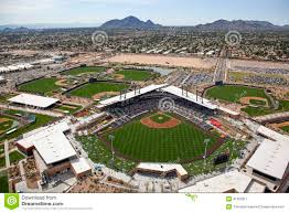 Arizona Spring Training Map by Salt River Fields At Talking Stick Editorial Photo Image 41305911