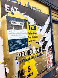 Seeking Turn What S Up Council Refuses To Say Whether It Will Prosecute Fly Posters
