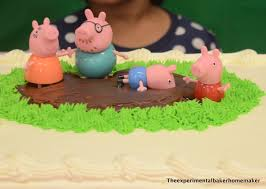 Pig Decor For Home by Diy Peppa Pig Themed Birthday Party The Experimental Baker Homemaker
