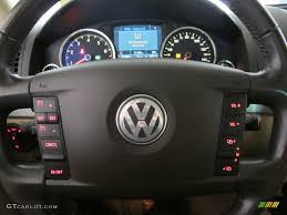 volkswagen touareg 2008 2008 volkswagen touareg 2 v8 pure beige steering wheel photo