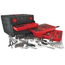 craftsman 258 piece mechanics tool set with 3 drawer case