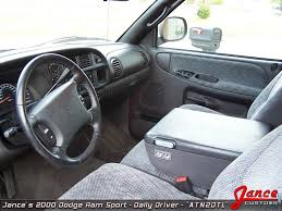 2000 dodge ram 1500 interior jance customs 2000 dodge ram sport atn2dtl the beginning