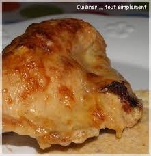 poulet cuisiné recette poulet gratiné au comté 750g