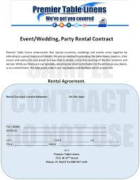 rental linens premier table linens rental program explained