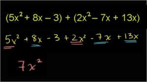 polynomials algebra i math khan academy