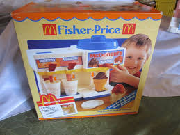 Fisher Price Toy Box Fisher Price Fun With Food Mcdonalds Soda Fountain Ice Cream Box