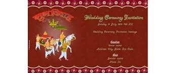 free wedding india invitation card invitations