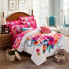 Girls Queen Size Bedding by Vcny Inspire Me Mix U0026 Match River Rose Comforter Set Multicolor