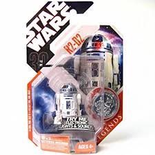 wars basic figure r2 d2 w electronic light and