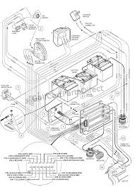 club car golf cart 36 volt battery wiring diagram best sample 48