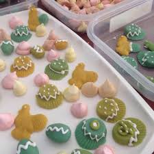 Marzipan Easter Cake Decorations by Marzipan Easter Eggs Youtube