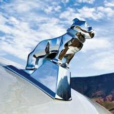 chrome fighting stallion ornament peterbilt