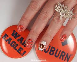 auburn nail art tiger stripes 2 u2013 the daily varnish