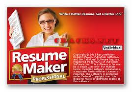 Individual Software Resume Maker Resumemaker Professional Deluxe 18 V19 0 0 1008 Crack8 Net