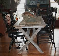 Primitive Dining Room Tables 188 Best Early Chairs U0026 Sawbuck Tables Images On Pinterest