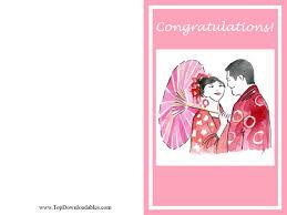 wedding wishes card template print wedding congratulations card wedding dress decore ideas
