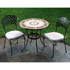 3 Piece Patio Set Bistro Patio Set And Design Recommendations Home Design By Fuller