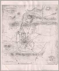 compass sketch plan of pretoria transvaal cartographic material