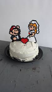 nerdy cake toppers 15 wonderfully nerdy wedding cake toppers