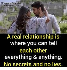 No Lie Meme - a moment to remember your lovefbcom pardhu a real relationship is