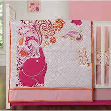 Dodger Crib Bedding by Chic By Jonathan Adler Party Elephant 4 Pc Crib Bedding Set