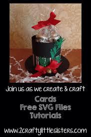 christmas hat treat holder free svg file svg file christmas hat