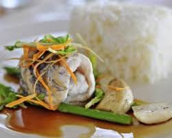 cuisine chinoise poisson recette de poisson blanc au gingembre coriandre et sauce soja façon