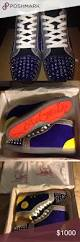 christian louboutin disco sneakers a brand new pair of christian