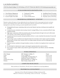 resume summary exles human resources athletic director resume therpgmovie