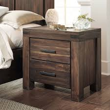 Cherry Wood Nightstands Nightstands One Drawer Stand Cool Nightstands Wood