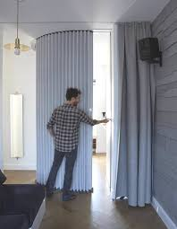 Accordion Curtain Hufcor Accordion Wall U2013 Instant Visual And Acoustic Privacy
