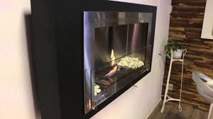 montreal ethanol fireplace by eco feu youtube
