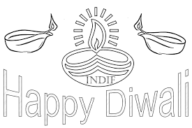 happy diwali coloring pages getcoloringpages com