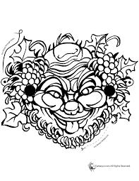 ornamental greek mask coloring woo jr kids activities