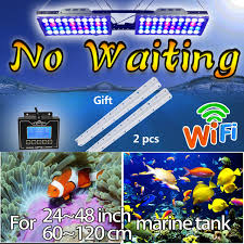 led aquarium light with timer dimmable timer led aquarium lighting reef wifi aquarium marine fish