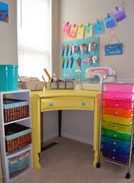 craftaholics anonymous craft room tour with coastal and crafty