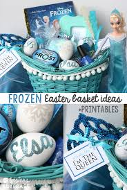 theme basket ideas frozen elsa easter basket my s suitcase packed with