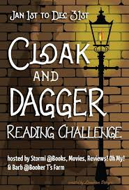 2018 cloak and dagger challenge sign up books movies reviews