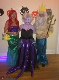 Mermaid Halloween Costume Adults Mermaid Group Costume